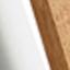 Biały, drewno tekowe