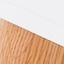 Nogi: drewno dębowe Korpus i front: biały, matowy