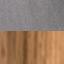 Tapicerka: ciemnoszary Nogi: drewno dębowe