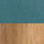 Tapicerka: butelkowy zielony Nogi: drewno dębowe