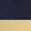 Bleu marine, couleur dorée