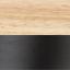Nero, legno naturale