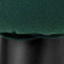 Tapizado: verde oscuro Patas: negro