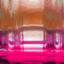 Transparant, koperkleurig, roze