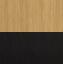 Drewno dębowe, biały, szary