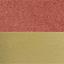 Koraalrood, goudkleurig