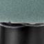 Tapizado: verde azulado Patas: negro