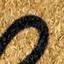 Fußmatte: Beige, Schriftzug: Schwarz