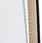Ziffernblatt: Weiß  Zeiger: Schwarz  Rahmen: Goldfarben