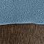 Bezug: Hellblau Füße: Kiefernholz