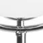 Lampenschirm: Opalweiß Lampenfuß: Chrom Kabel: Transparent