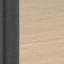 Półki: dzikie drewno dębowe Stelaż: czarny