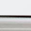 Sitzschale: WeissBeine: Silberfarben, glänzend