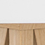 Abat-jour: blanc Pied de lampe: placage en bois