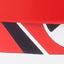 Korpus: Rot Ablagefläche und Schiebetüren: Rot, Schwarz, Weiß