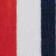 Rosso, blu navy, bianco crema