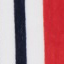 Rood, marineblauw, crèmewit