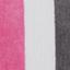 Pink, Dunkelgrau, Cremeweiß