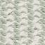 Vorder- und Rückseite: Graugrün und EcruFransen: Ecru