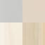 Żółty, kasztanowy, szary, brązowy