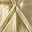 Rosace et douille: laiton Abat-jour: transparent