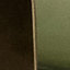 Gestell: Messing, gebürstetVase: Tannengrün, transparent