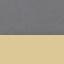 Rivestimento: grigio scuro Gambe: dorato lucido