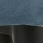 Revêtement: bleu ciel Pieds: noir, couleur dorée