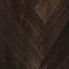 Frame: mangohout in een donkere finish. Poten: zwart. Handvat: metaalkleurig