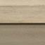 Piano: legno di mango, grigio lavato Struttura: champagne metallizzato, opaco