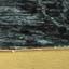 Piani d'appoggio: marmo verde Struttura: dorato, lucido
