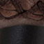 Tapicerka: brązowy Nogi: czarny, matowy
