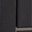 Gestell und Griff: SchwarzGlaseinsatz: Transparent