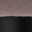Rivestimento: rosa cipria Gambe: nero opaco Poggiapiedi: dorato lucido