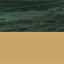 Tischplatte: Grüner MarmorGestell: Goldfarben, glänzend