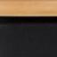 Seduta: legno di frassino Gambe: nero Poggiapiedi: nero