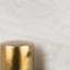 Piano d'appoggio: bianco, marmorizzato Gambe: ottone