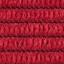 Bezug: Rot  Beine: Chrom Armlehnen: Rot, Chrom