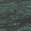 Tischplatte: Grüner Marmor Gestell: Goldfarben, glänzend