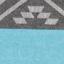Turkusowy, szary, ciemny niebieski