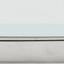 Weiß-grau marmoriert, Silberfarben