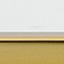 Piano d'appoggio: vetro trasparente Struttura: dorato lucido
