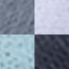 Hellblau, Grautöne, Weiß