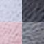 Blady różowy, odcienie szarego