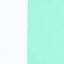 Zielony miętowy, biały