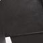 Teakhoutkleurig, zwart