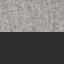Tessuto grigio chiaro, gambe nero