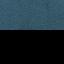 Rivestimento: blu Gambe: nero opaco