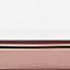Wit-grijs gemarmerd, roségoudkleurig