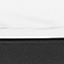 Weiß-grau marmoriert, Schwarz